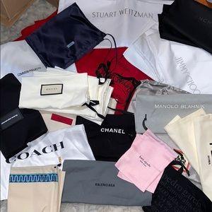Designer Dustbags (Gucci, Louboutin, & more!)